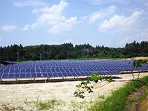 太陽光発電状況のイメージ