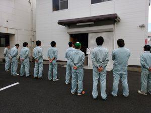 富士電工の朝礼